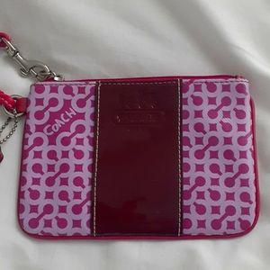 COACH Pink Wrislet Authentic